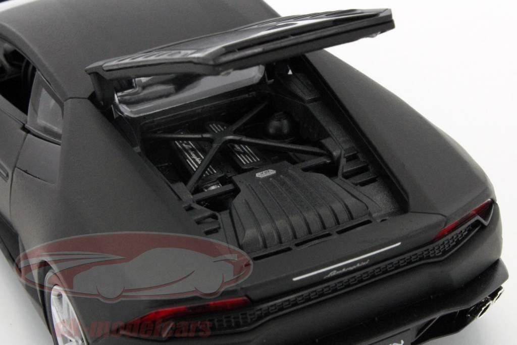 Lamborghini Huracan LP 610-4 an 2015 tapis noir 1:24 À coup sûr