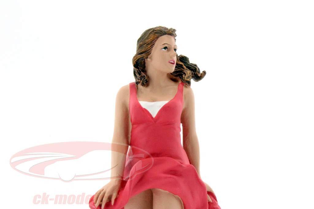 70er Jahre Figur VIII 1:18 American Diorama