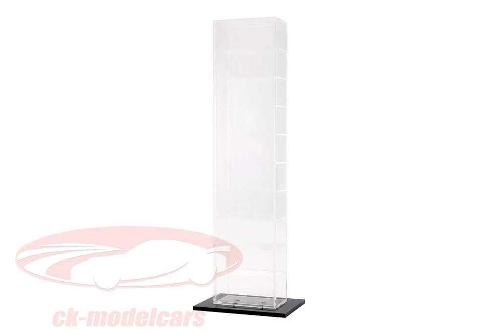 modello di auto torre vetrina con piastra di base per 10 modelli 1:43 SAFE