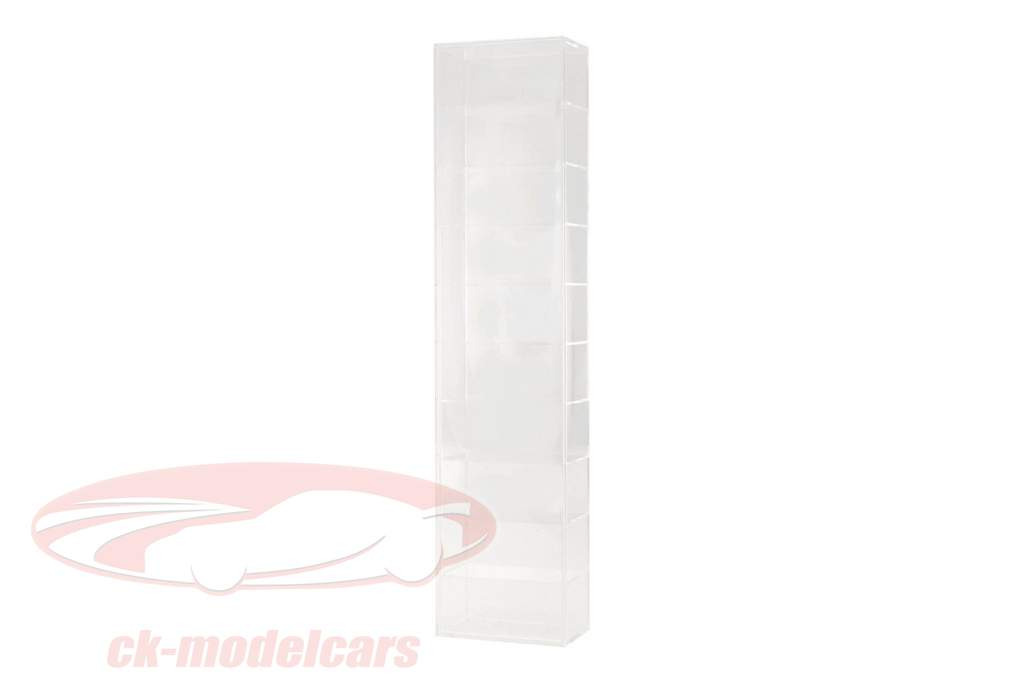 model auto Tower vitrine wandmontage voor 10 modellen 1:43 SAFE