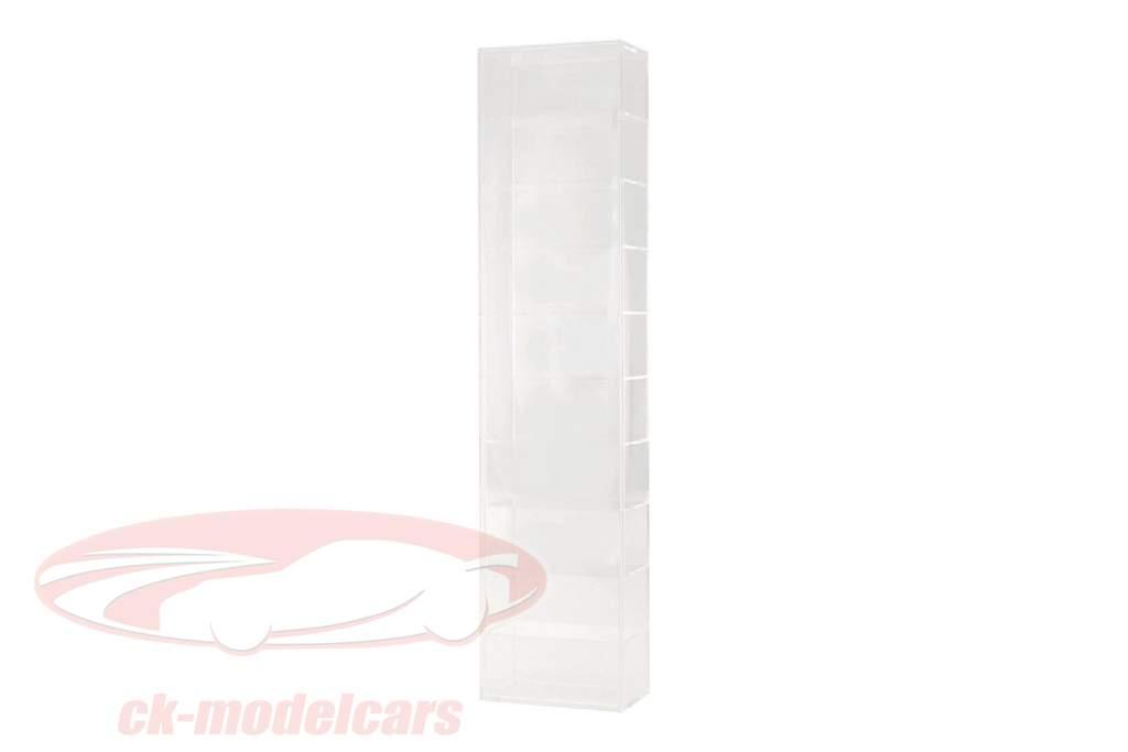 modello di auto torre vetrina montaggio a parete per 10 modelli 1:43 SAFE