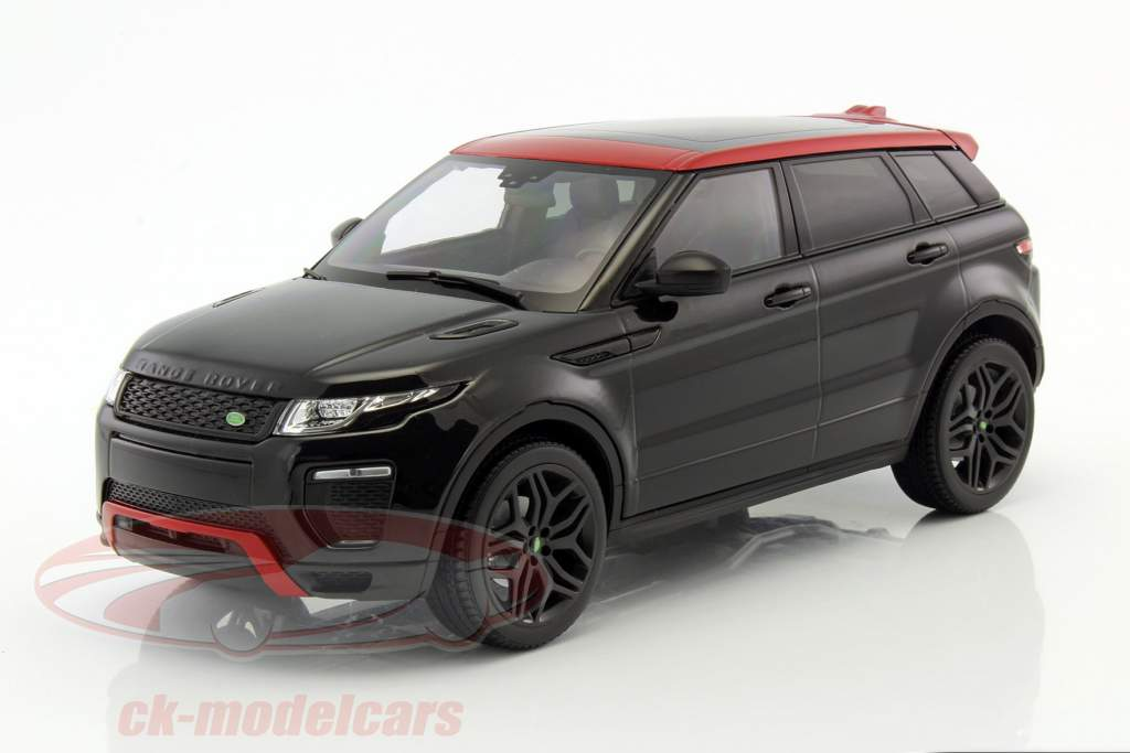Range Rover Evoque HSE Dynamic Lux santorini preto 1:18 Kyosho