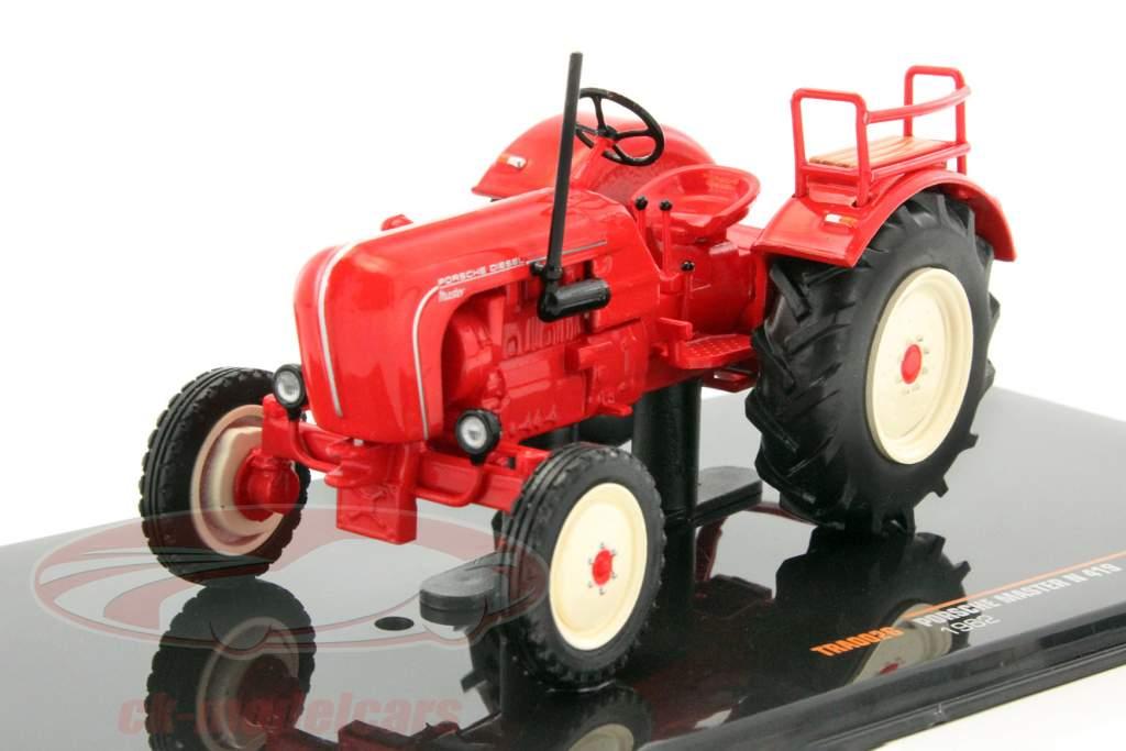 Porsche Master N 419 ano de construção 1962 vermelho 1:43 Ixo