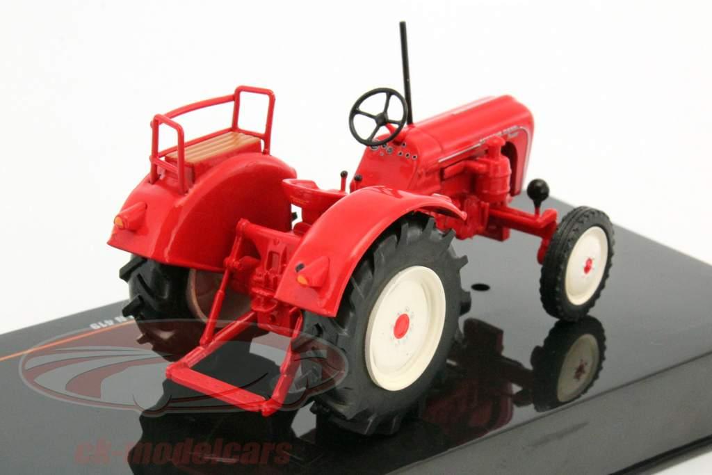Porsche Master N 419 anno di costruzione 1962 rosso 1:43 Ixo
