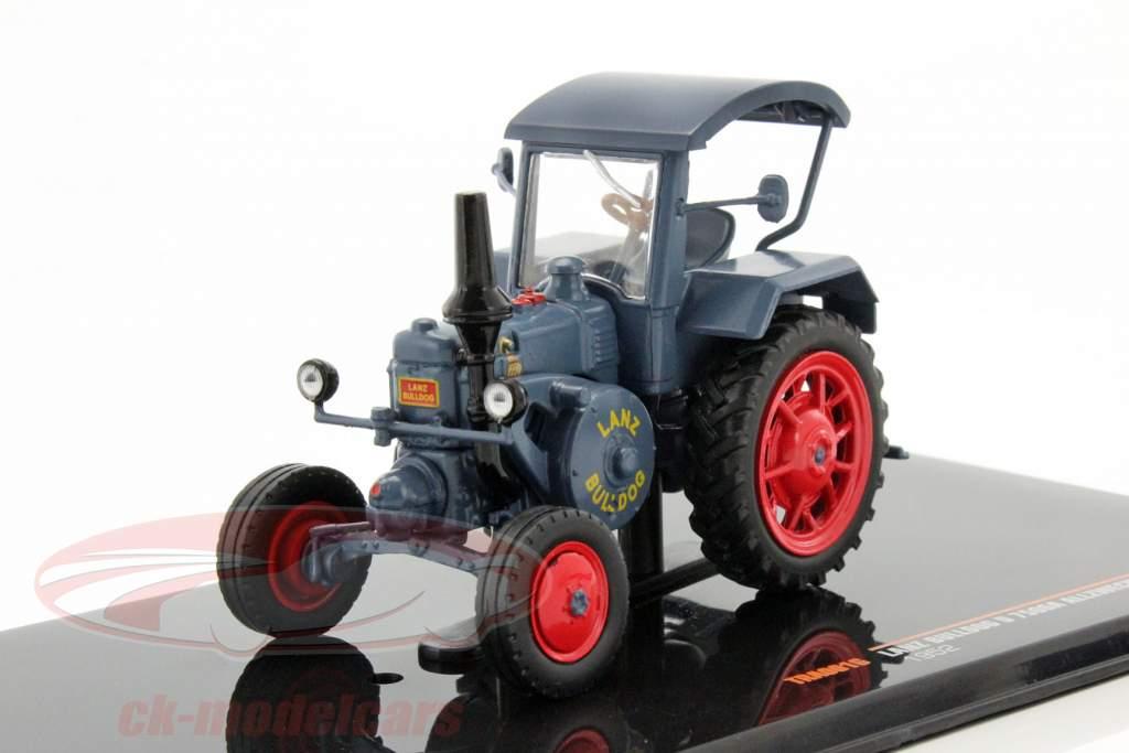 Lanz Bulldog D 7506A All Purpose Bouwjaar 1952 blauw 1:43 Ixo
