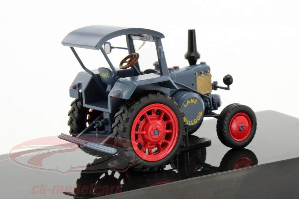 Lanz Bulldog D 7506A tout usage année de construction 1952 bleu 1:43 Ixo