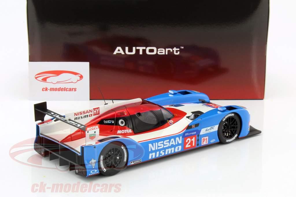 Nissan GT-R LM Nismo #21 24h LeMans 2015 Matsuda, Shulzhitskiy, Ordonez 1:18 AUTOart