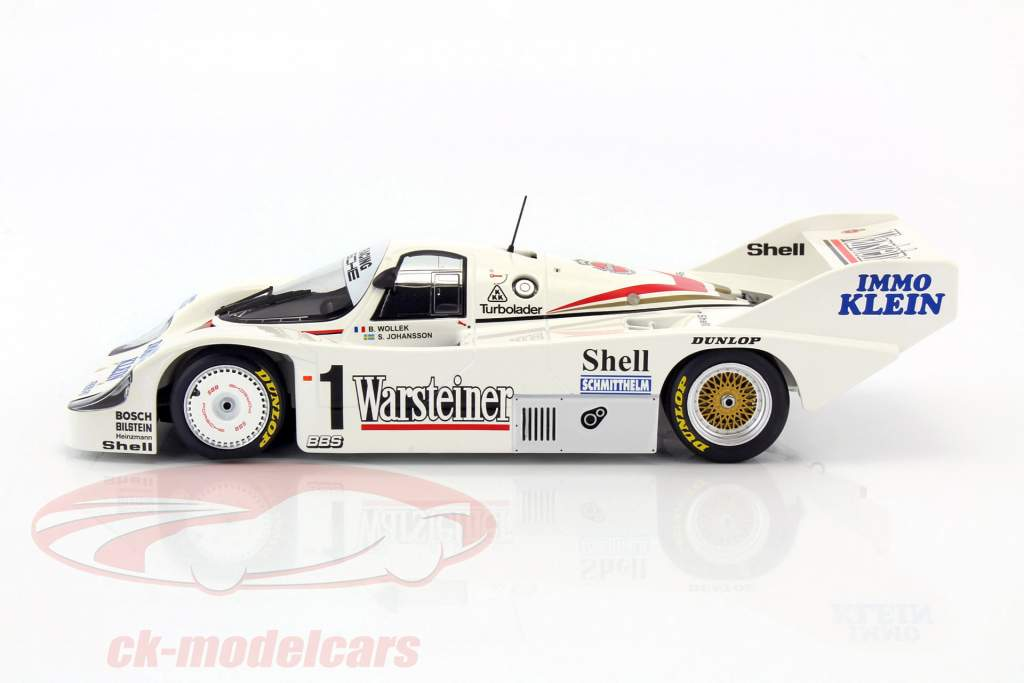 Bob Wollek Porsche 956K Joest Racing Winner DRM Zolder 1983 1:18 Minichamps