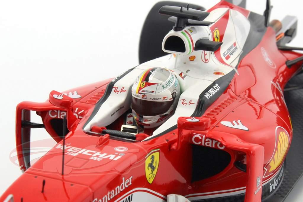 Sebastian Vettel Ferrari SF16-H #5 GP Italien Formel 1 2016 1:18 BBR