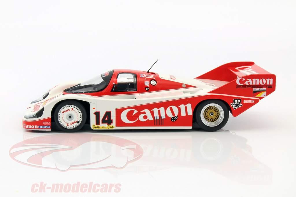Porsche 956K #14 3rd 1000km Nürburgring 1983 1:18 Minichamps