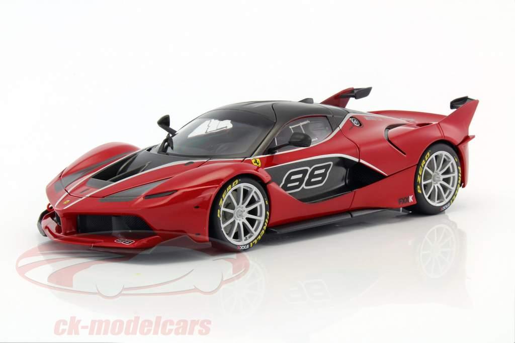 Ferrari FXX-K #88 rød / sort 1:18 Bburago Signature