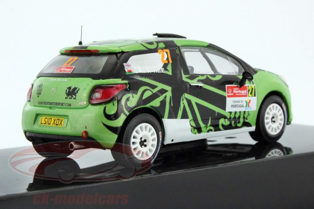 Citroen DS3 R3 #27 Rassemblement Portugal WRC 2011 Hunt / Mcphee 1:43 Ixo