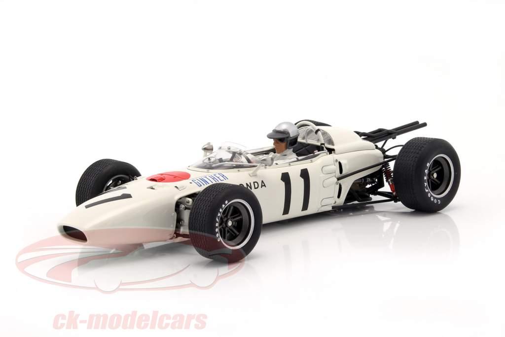Richie Ginther Honda RA272 #11 vencedor México GP fórmula 1 1965 1:18 AUTOart