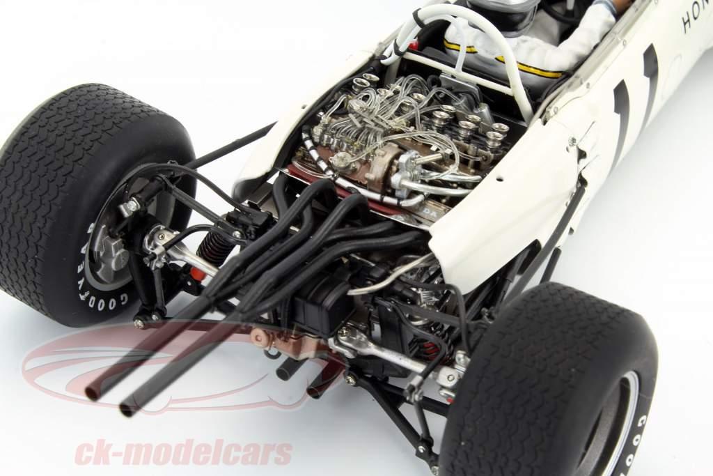 Richie Ginther Honda RA272 #11 gagnant Mexique GP formule 1 1965 1:18 AUTOart