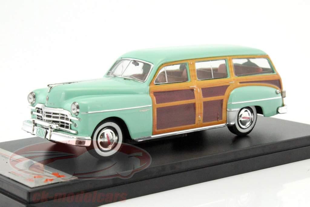 Dodge Coronet boisé wagon année de construction 1949 chaux / aspect bois 1:43 Premium X