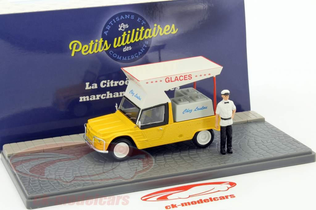 Citroen Mehari iceman jaune 1:43 Atlas