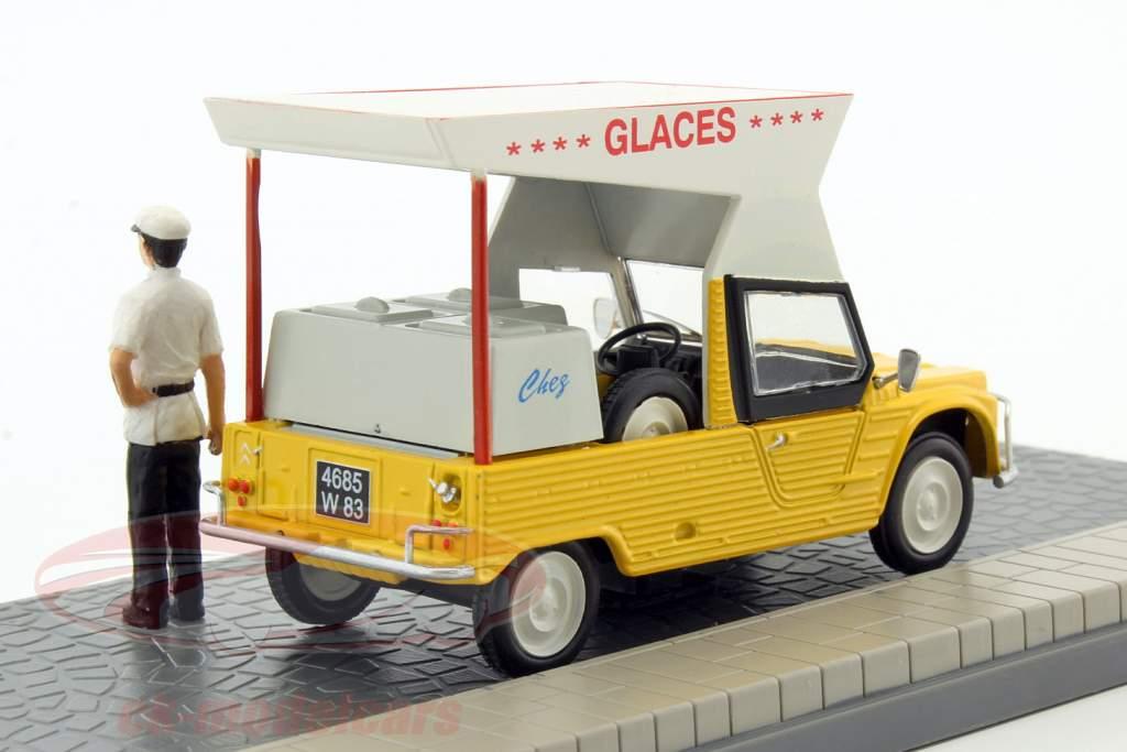 Citroen Mehari iceman yellow 1:43 Atlas