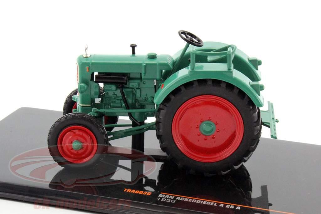 MAN Ackerdiesel A25 A anno di costruzione 1956 verde 1:43 Ixo