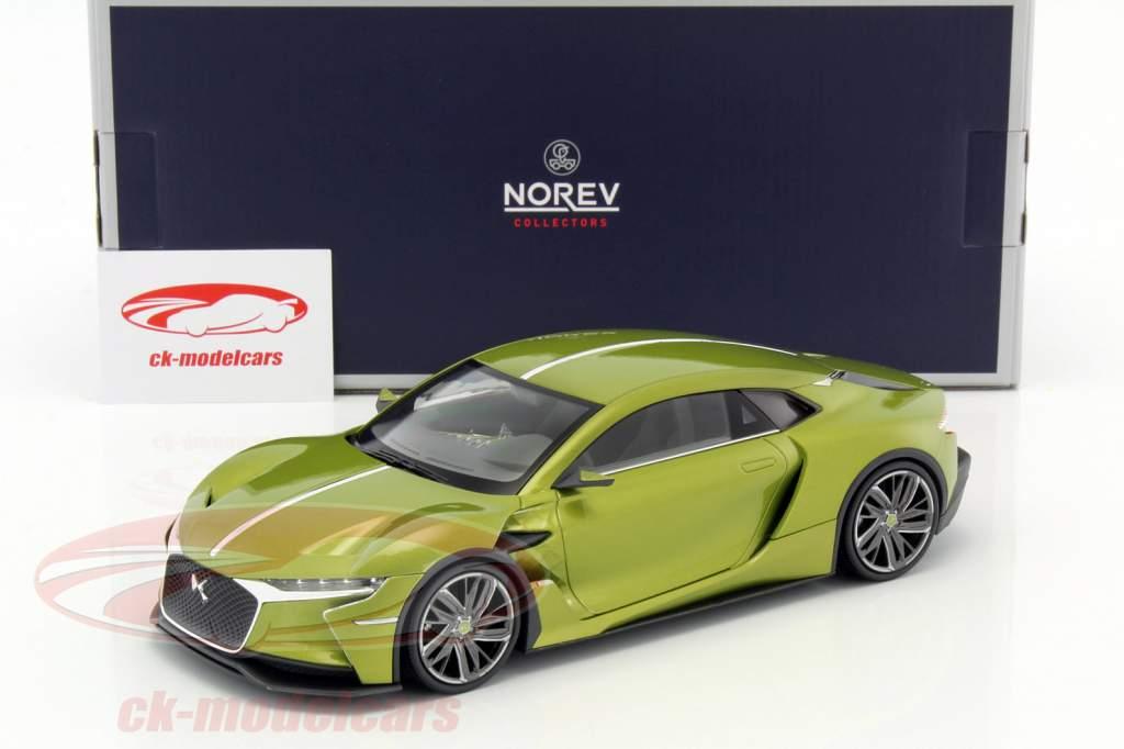 Citroen DS E-Tense Salon de Genève 2016 green metallic 1:18 Norev