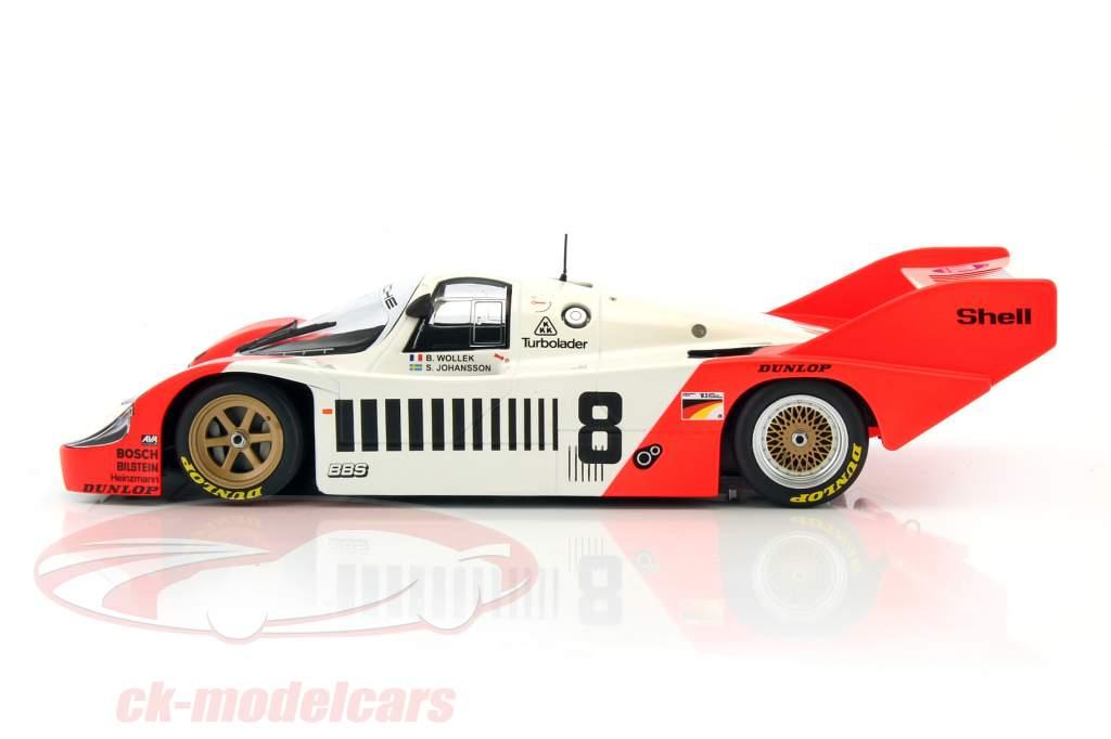 Porsche 956K #8 1000km Nürburgring 1983 Wollek, Johansson 1:18 Minichamps