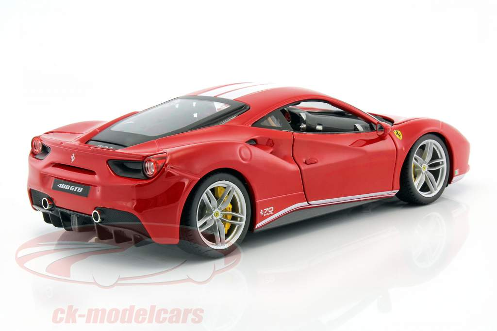 Ferrari 488 GTB The Schumacher 70th Anniversary Collection red 1:18 Bburago