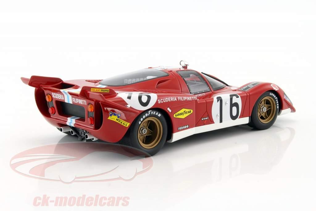 Ferrari 512S #16 24h LeMans 1970 Moretti, Manfredini 1:18 CMR