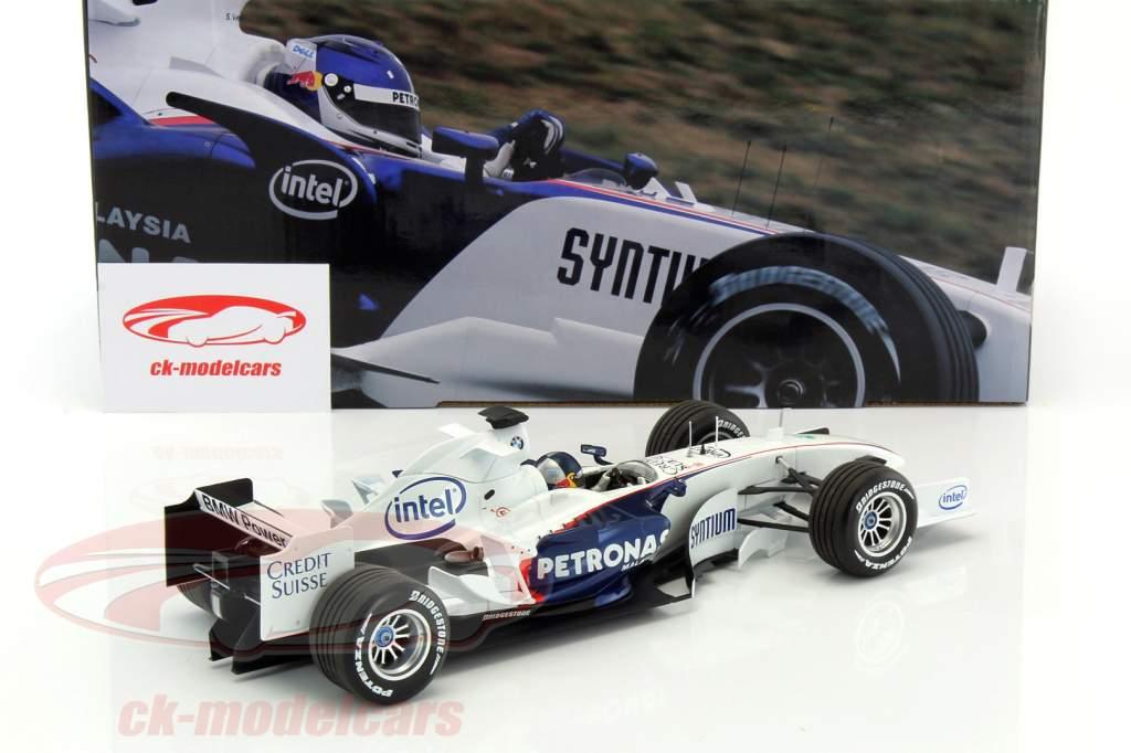 S. Vettel BMW Sauber C24B BMW wereld finales Valencia formule 1 2006 1:18 Minichamps