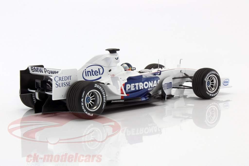 S. Vettel BMW Sauber C24B BMW monde finales Valencia formule 1 2006 1:18 Minichamps