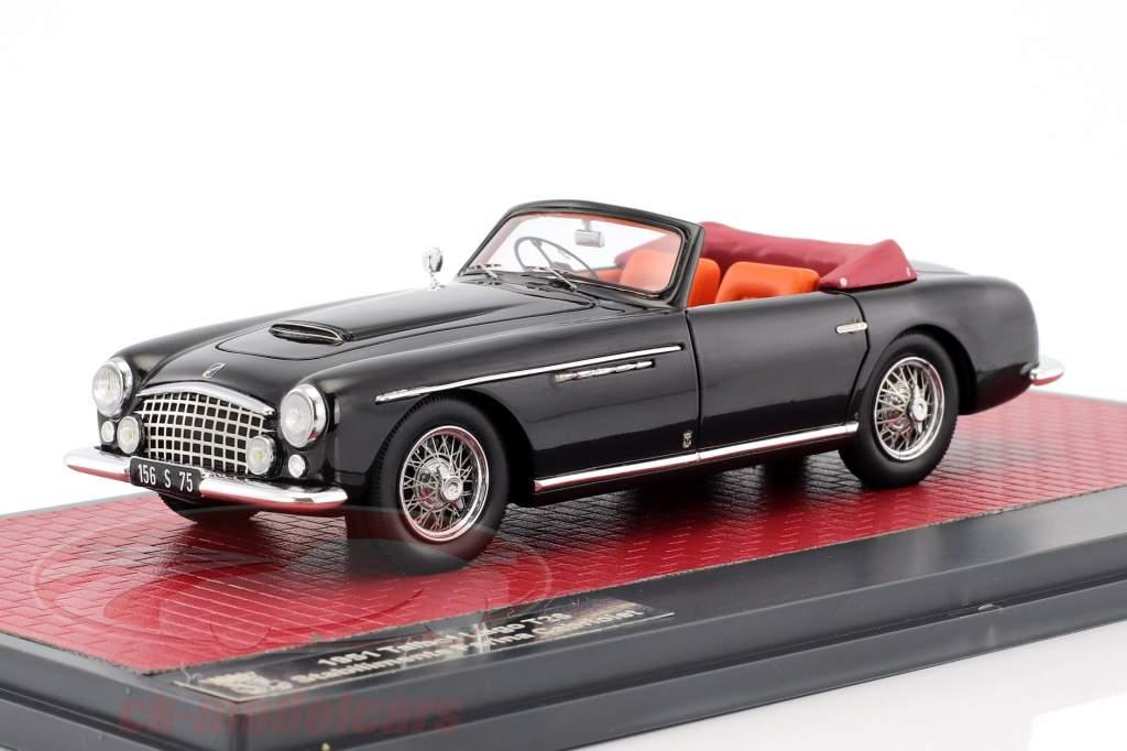 Talbot Lago T26 Stabilimente Farina Cabriolet Baujahr 1951 schwarz 1:43 Matrix