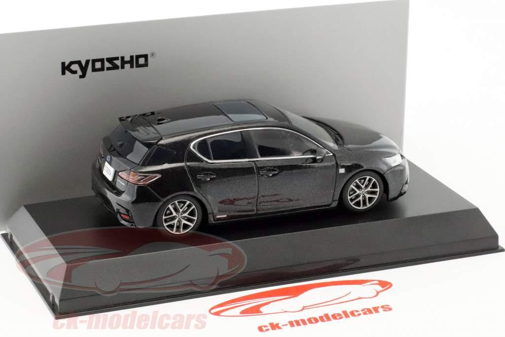 Lexus CT 200h Sport graphit schwarz 1:43 Kyosho