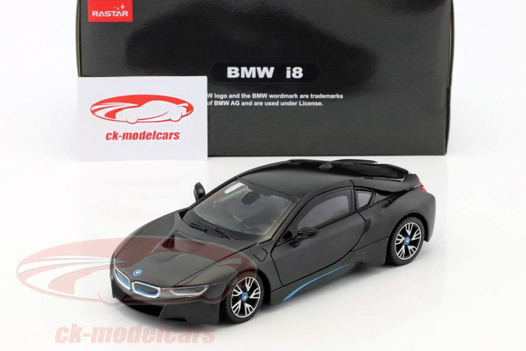 Rastar 1 24 Bmw I8 Jaar 2015 Mat Zwart 56500bk Model Auto 6930751311022