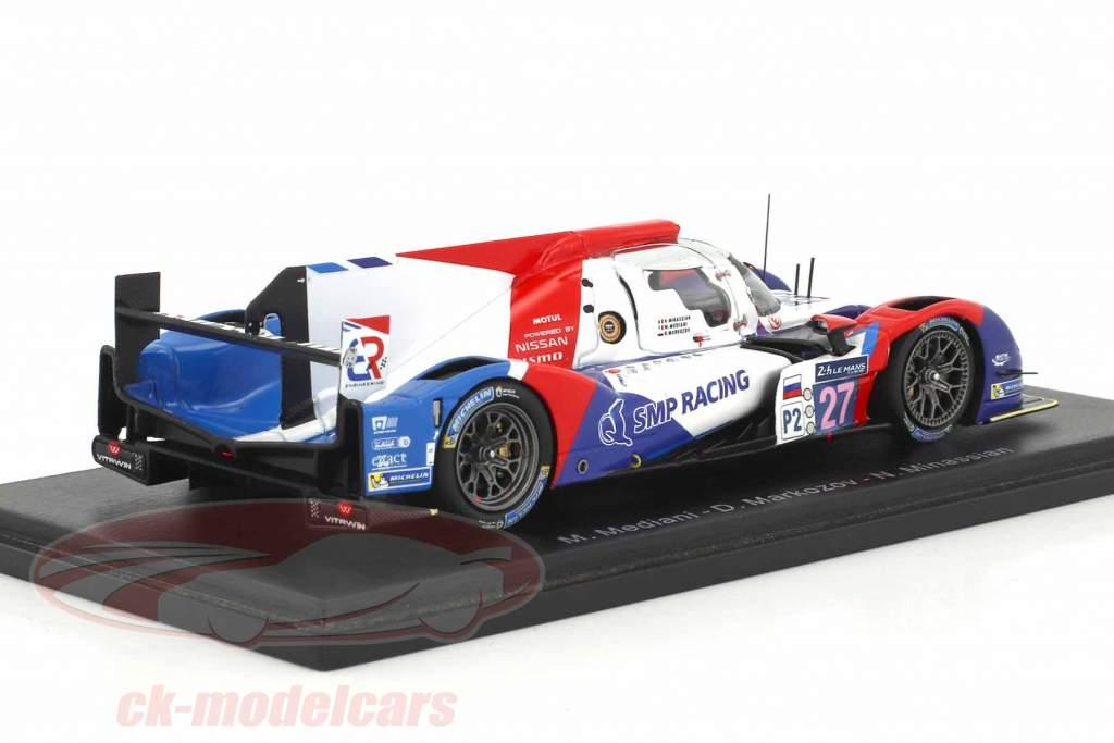 BR01 Nissan #27 24h LeMans 2015 Mediani, Markozov, Minassian 1:43 Spark