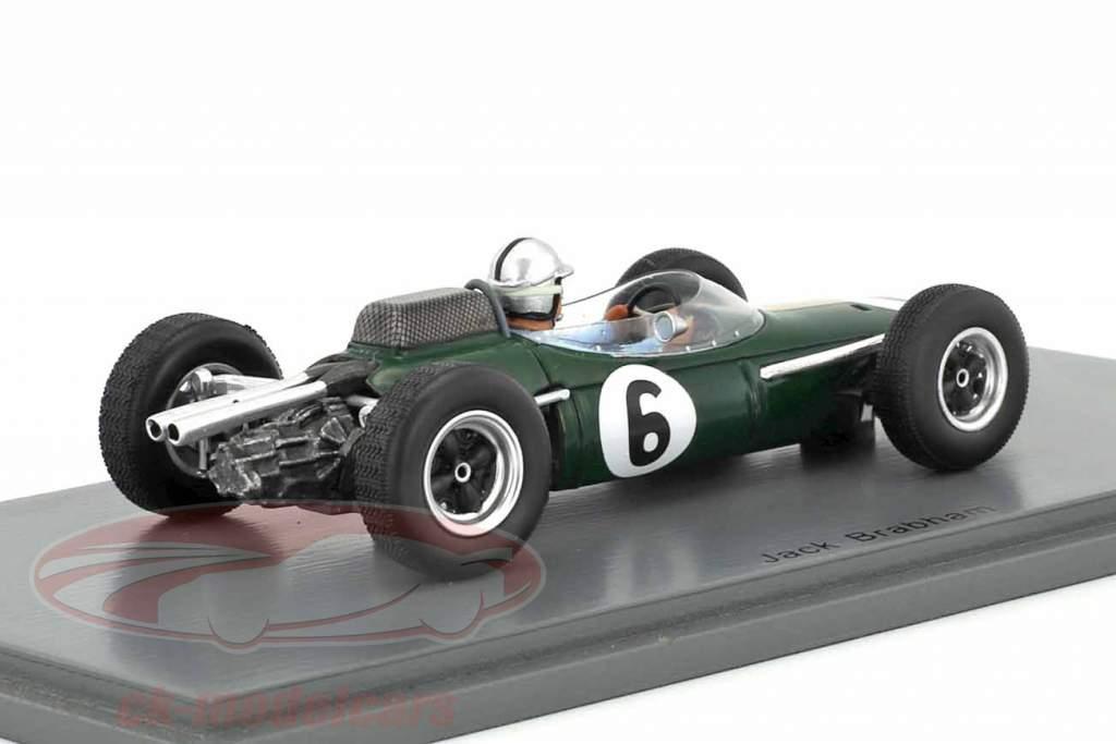 Jack Brabham Brabham BT7 #6 4 France GP formule 1 1963 1:43 Spark