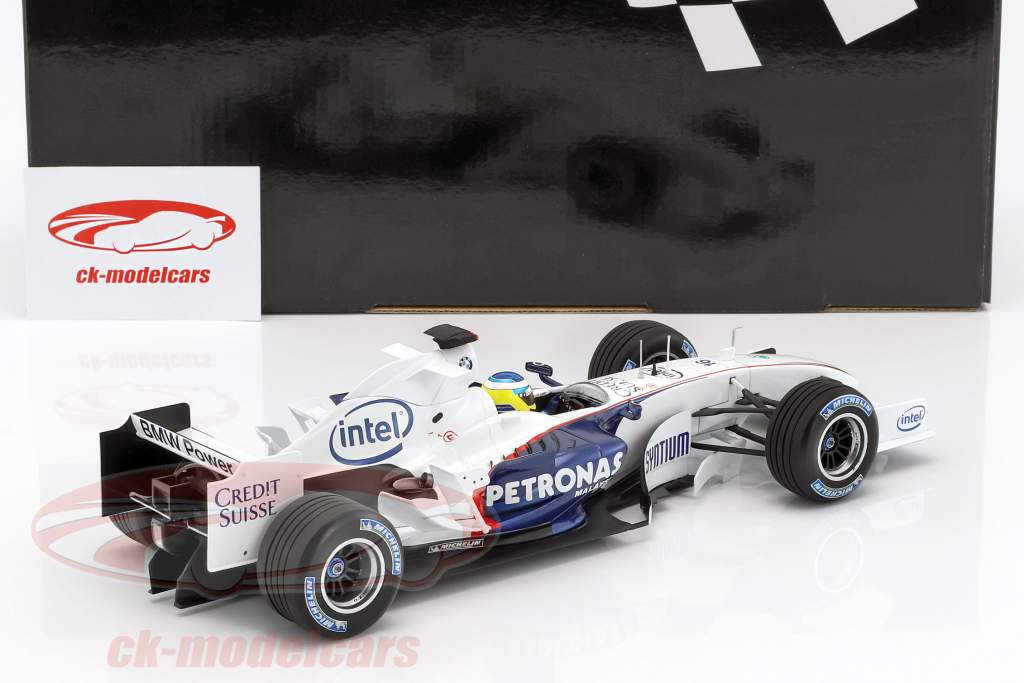 Nick Heidfeld Sauber BMW C24B #16 febbraio prova Valencia formula 1 2006 1:18 Minichamps