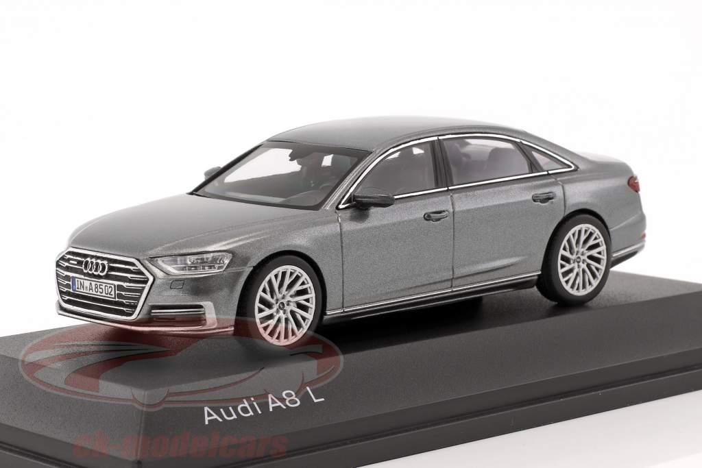 Audi A8 L monsun grå 1:43 iScale
