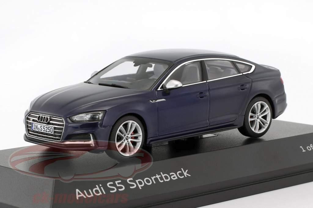 Audi S5 Sportback anno di costruzione 2016 navarra blu 1:43 Paragon Models