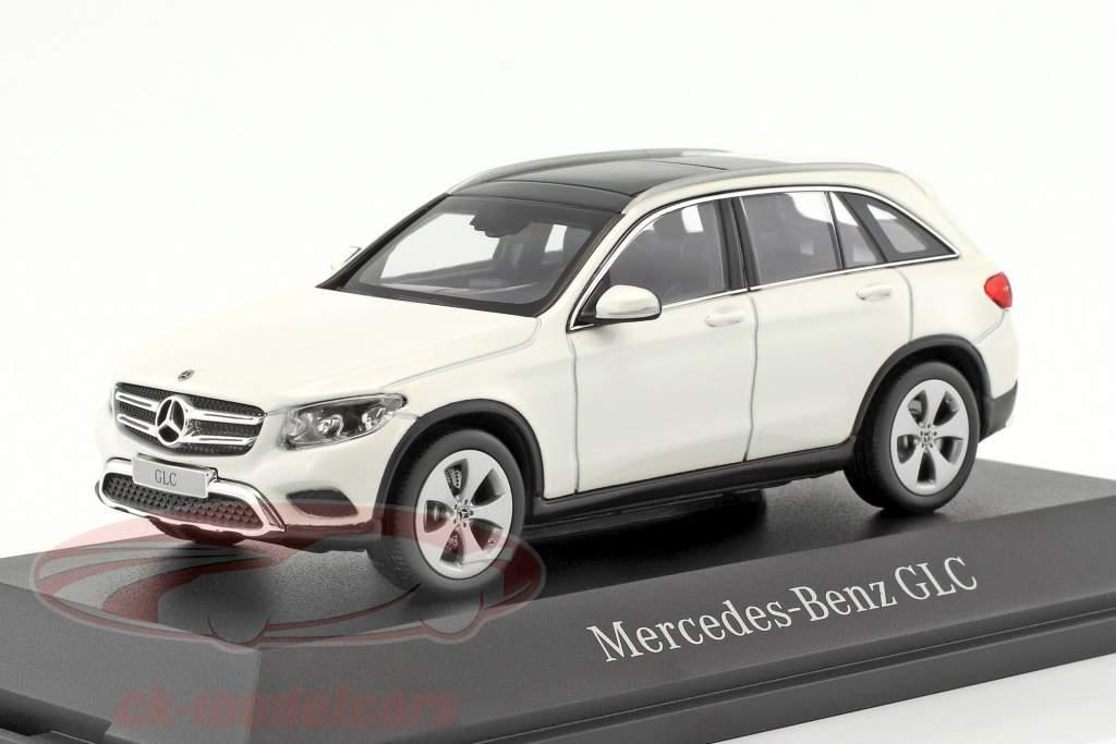 Mercedes-Benz GLC-Klasse X253 diamant weiß 1:43 Norev