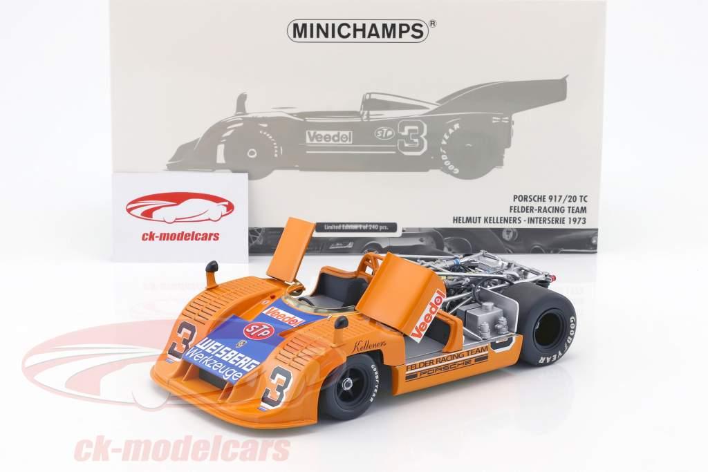 Porsche 917/20 TC #3 Interserie 1973 Kelleners 1:18 Minichamps