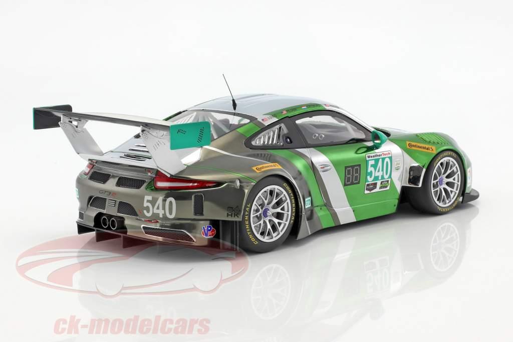 Porsche 911 (991) GT3 R #540 24h Daytona 2016 Black Swan Racing 1:18 Minichamps