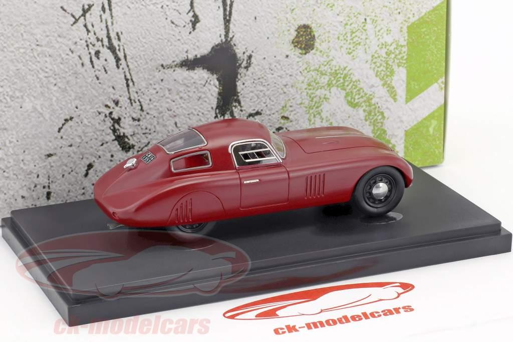 Fiat 1500 Barchetta Kompressor Baujahr 1943 rot 1:43 AutoCult
