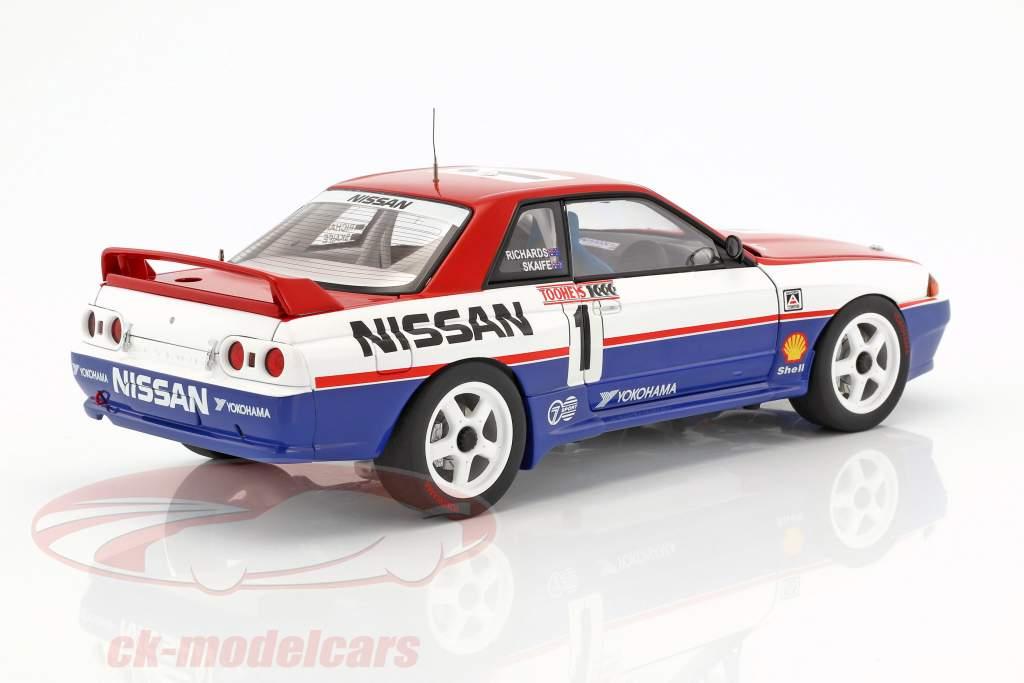 Nissan Skyline GT-R (R32) #1 Bathurst vincitore 1991 Skaife, Richards 1:18 AUTOart