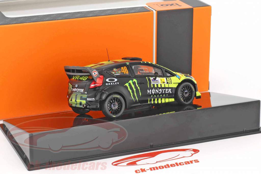 Ford Fiesta RS WRC #46 2nd Monza Rally 2013 Rossi, Cassina 1:43 Ixo
