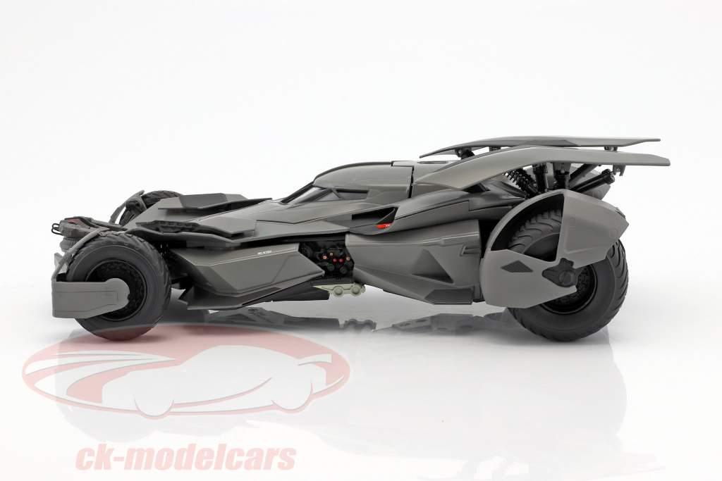 Batmobile film Batman V Superman: Dawn Of Justice 2016 sort 1:18 HotWheels Elite