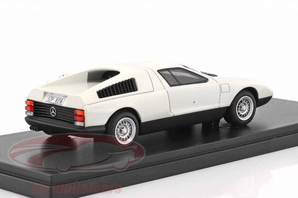 Mercedes-Benz C111 Prototyp Baujahr 1969 weiß 1:43 AutoCult