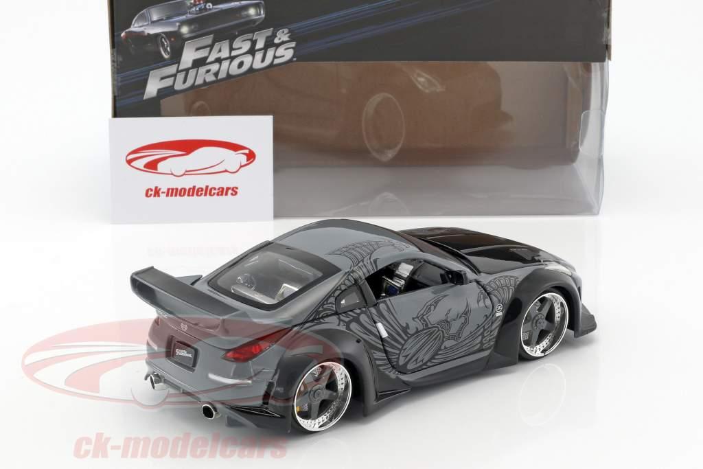 Nissan 350Z Película Fast and Furious Tokyo Drift 2006 1:24 Jada Toys