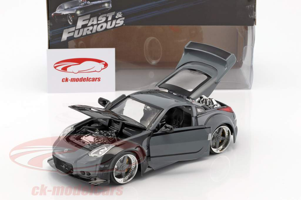 Nissan 350Z Filme Fast and Furious Tokyo Drift 2006 1:24 Jada Toys