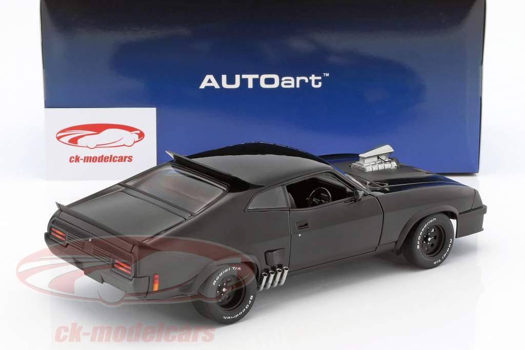 Ford XB Falcon Tuned Version Black Interceptor film Mad Max 2 nero 1:18 AUTOart