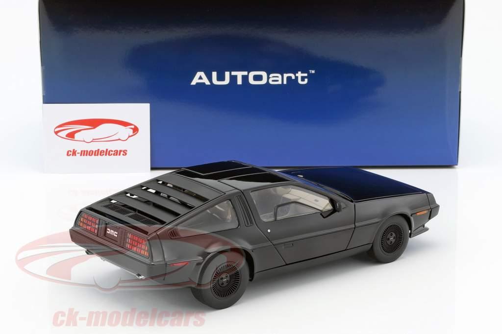 DeLorean DMC-12 Opførselsår 1981 sort 1:18 AUTOart