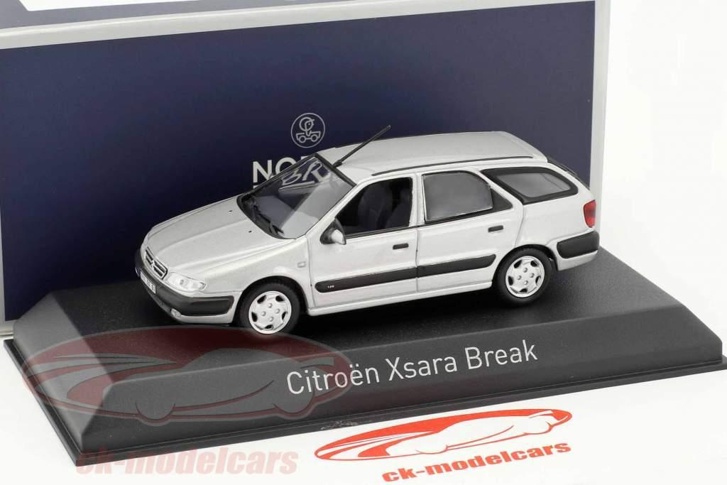 Citroen Xsara Break anno di costruzione 1998 quarzo grigio 1:43 Norev