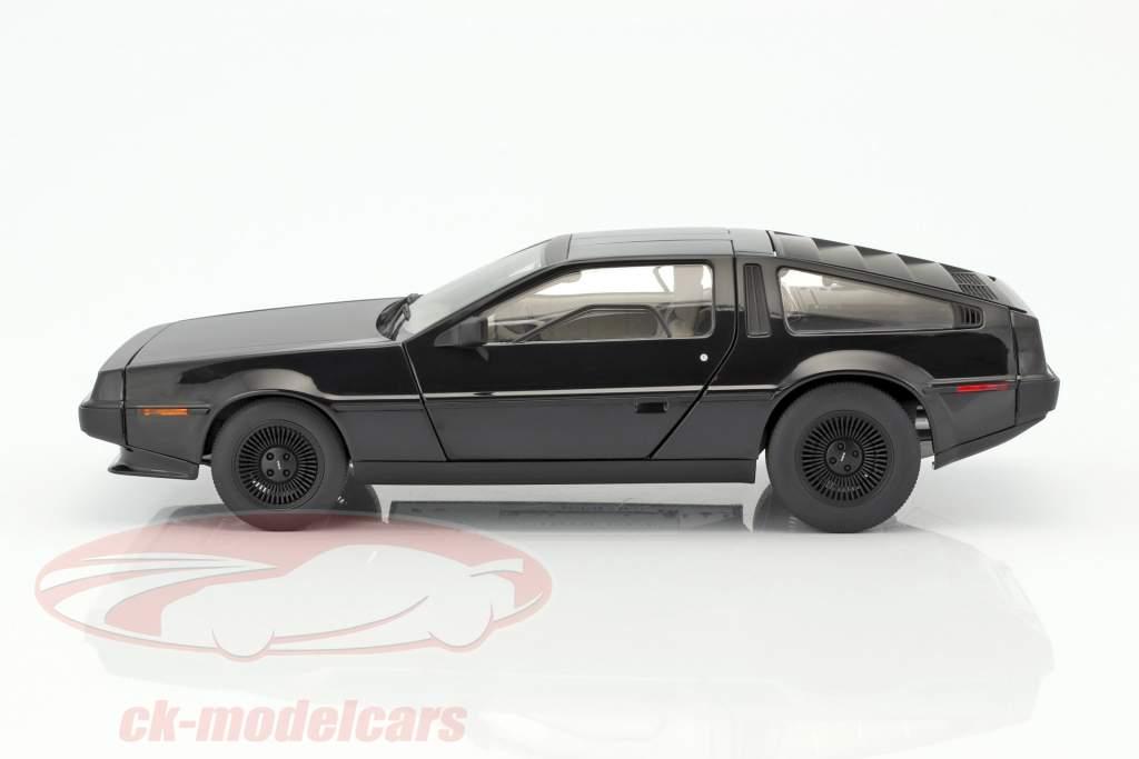 DeLorean DMC-12 année de construction 1981 noir 1:18 AUTOart